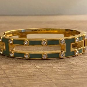 J. Crew studded bangle with clasp